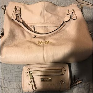 Jessica Simpson bag and wallet